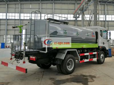 东风康机180马力12吨绿化洒水车图片