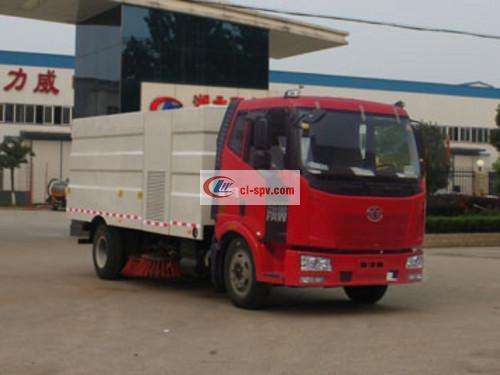 Jiefang J6 16 party washing and sweeping truck pictures