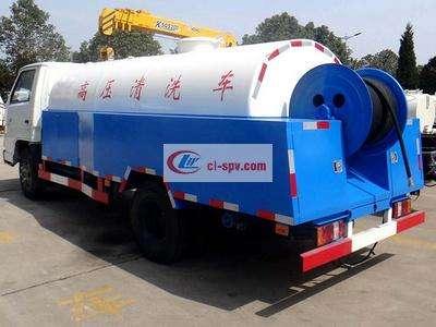 江铃 small 4吨高压清洗车( small )图片