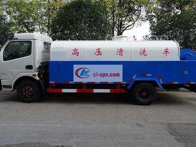 东风大多利卡8吨高压清洗车图片