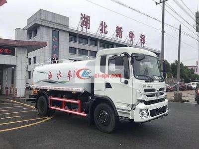 东风专底玉柴160马力12吨洒水车图片