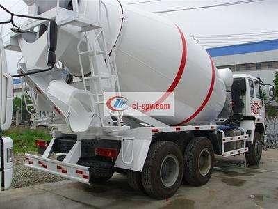 重汽豪曼4方水泥搅拌车图片