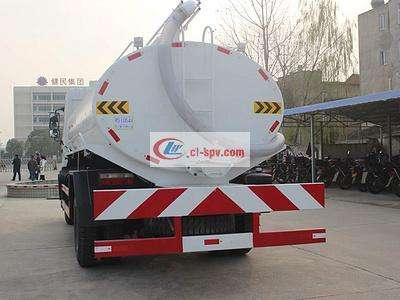 东风专底12吨吸粪车图片