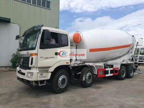 صور اومان 20 square cement mixer truck picture