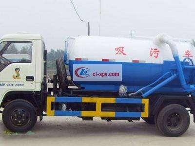 福田轻型5吨吸污车图片