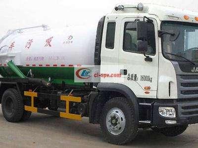 江淮单桥12吨吸污车图片