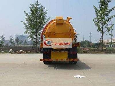 东风天锦8吨吸污车图片