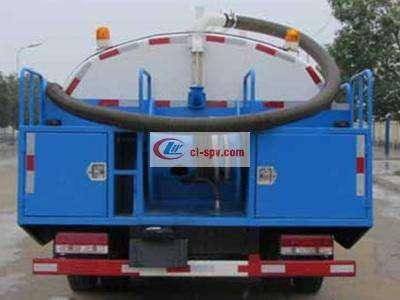 东风大多利卡7吨高压清洗车图片
