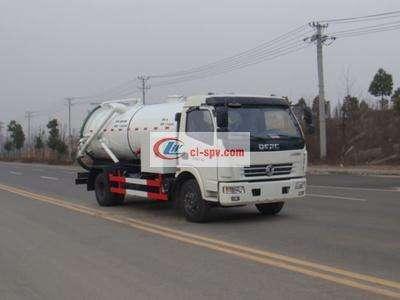 Dongfeng Duolika 3 tons sewage suction truck