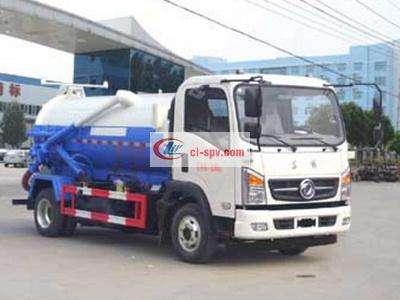 国五东风5吨吸污车图片