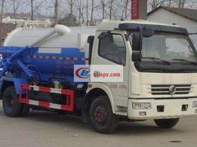国五东风多利卡5吨吸污车图片