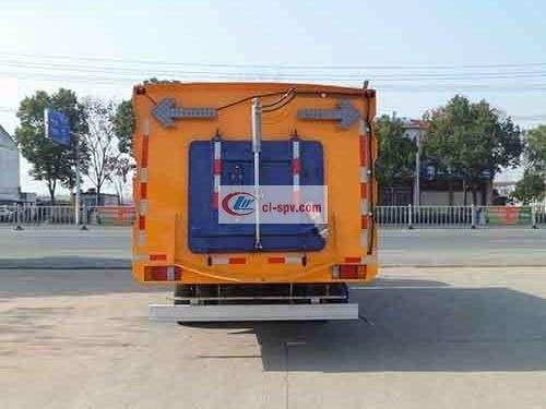 Picture of Qingling Isuzu 8 Ton Sweeping Truck