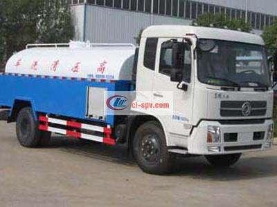 东风天锦15吨高压清洗车图片