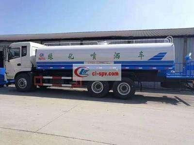国五东风御龙后八轮20吨洒水车图片