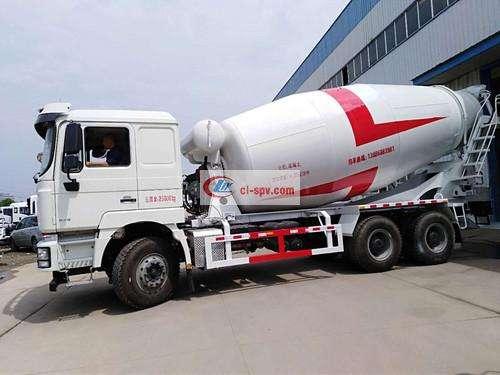 شنشى للسيارات Delong 14 square cement mixer truck picture