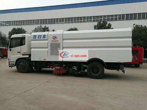 Tianjin 16 party washing and sweeping car picture