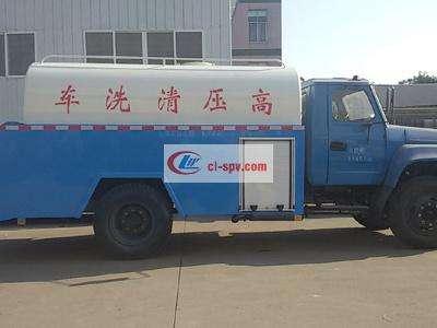 东风8吨高压清洗车图片