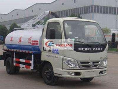 الصور 4 tons fecal suction truck