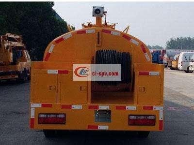 东风4吨 small 高压清洗车(管道疏通车)图片