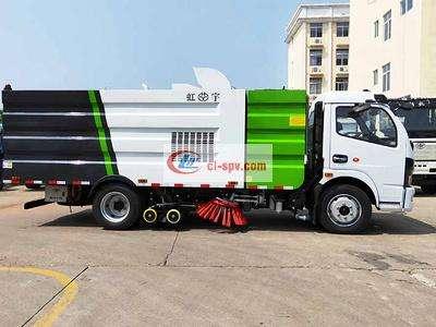 东风多利卡国六8方8吨洗扫车图片