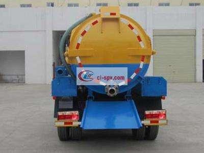 东风凯普特3吨吸污车图片