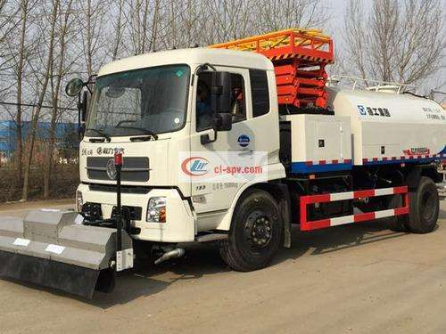 Picture of Dongfeng Tianjin (National V) High Pressure Washing Truck