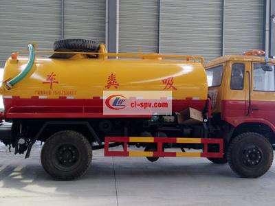 东风15吨高压清洗吸粪车图片