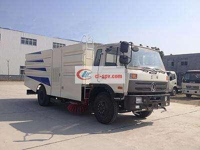 东风153大型洗扫车 16吨洗扫车图片