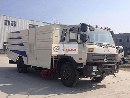 Dongfeng 153 large washing and sweeping truck 16 ton washing and sweeping truck picture