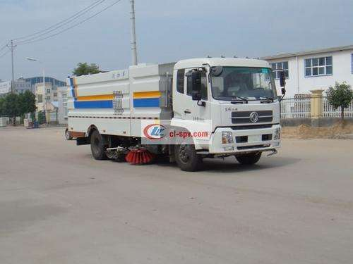Picture of Dongfeng Tianjin 16-ton large-scale washing and sweeping truck