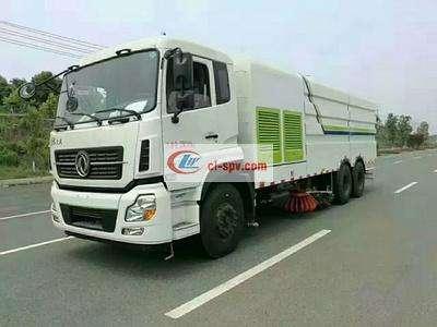 东风天龙25吨洗扫车图片