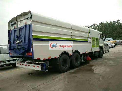 Dongfeng Tianlong 25 Ton Washing and Sweeping Truck Picture