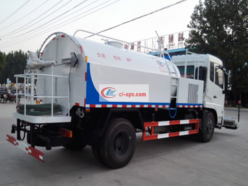 Picture of Dongfeng Tianjin (National V) 9-ton pavement cleaning truck