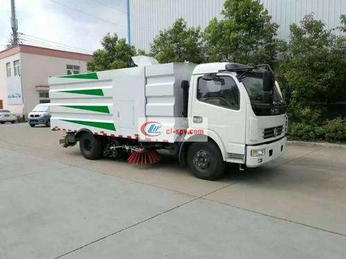 Dongfeng Duolika 8 Party Washing and Sweeping Truck Picture