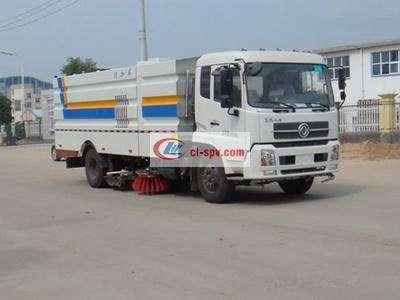 东风天锦16吨大型洗扫车图片