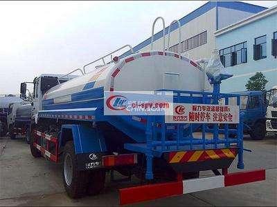 国五重汽斯太尔12吨洒水车图片