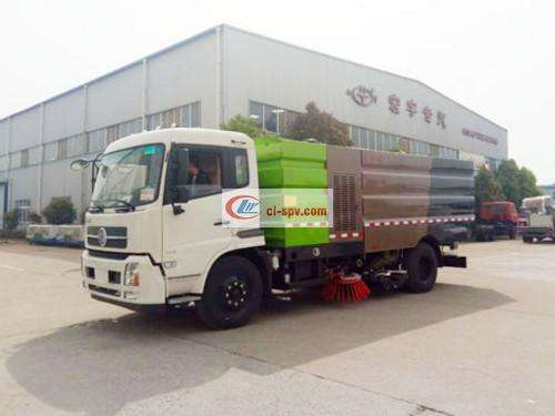 Tianjin 4700 Wheelbase Washing and Sweeping Truck Picture