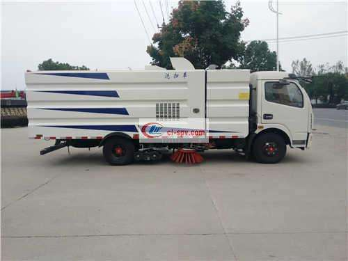 Dolica 8 Ton Washing and Sweeping Truck Picture