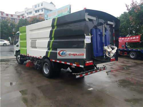 JAC 8 Ton Sweeping Truck Picture