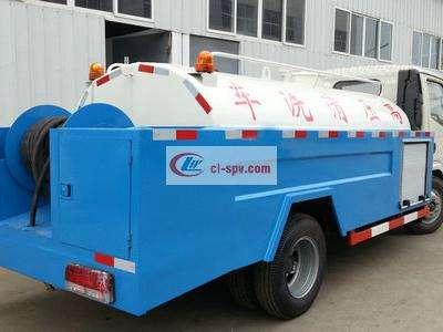 东风多利卡4吨高压清洗车图片