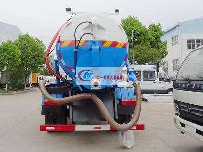东风D9多利卡12吨吸污车图片