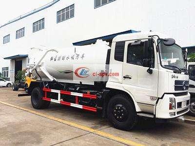 Дунфэн Тяньцзинь 12 tons sewage suction truck