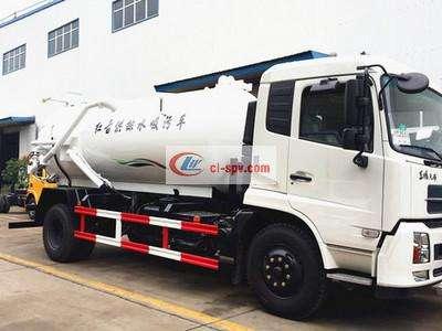 东风天锦12吨吸污车图片