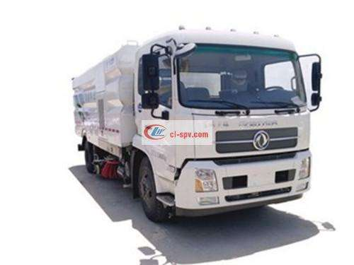 Dongfeng Tianjin 16 Ton Sweeping Truck Picture