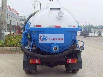 福田轻型4吨吸污车图片