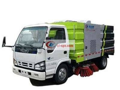 Isuzu 8吨洗扫车(4水/5尘)图片