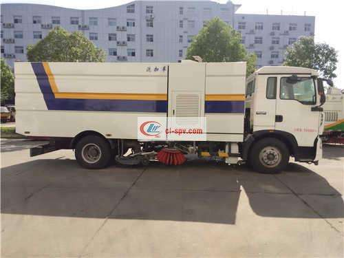 Howo 16 Tons Washing and Sweeping Truck Picture