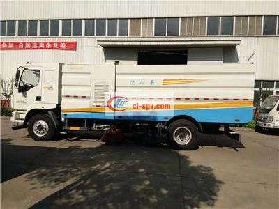 东风柳汽16吨洗扫车图片