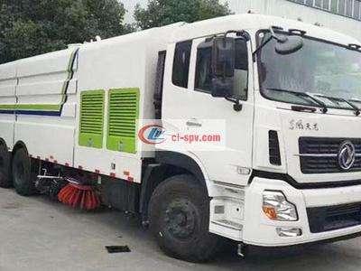 天龙25吨洗扫车图片