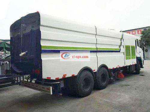 Tianlong 25 Ton Washing and Sweeping Truck Picture